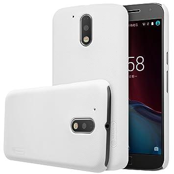 Nillkin - Carcasa para Motorola Moto G4 Plus - Blanco ...