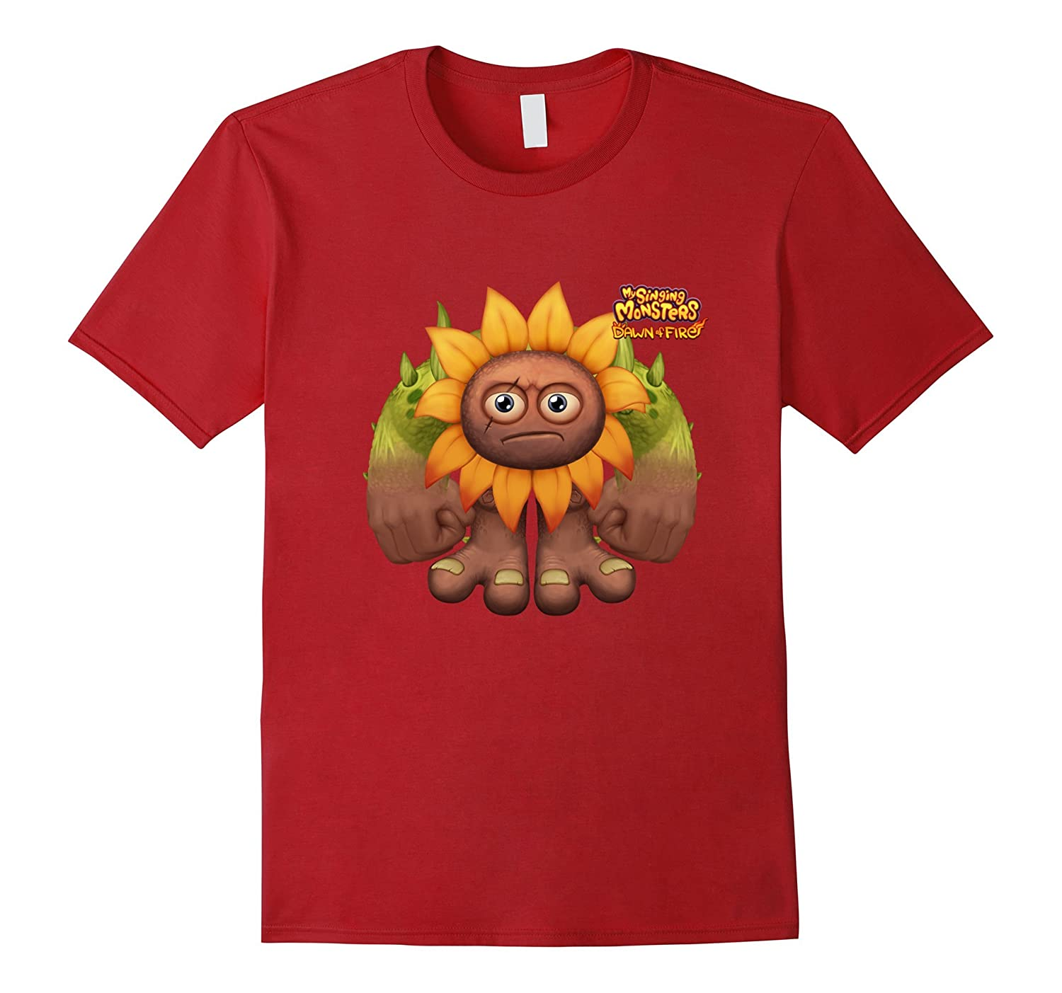 My Singing Monsters Dawn Of Fire - Flowah T-shirt-CD