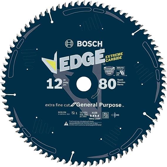 Bosch DCB1280 Daredevil 12-Inch 80-Tooth Extra-Fine Finish Circular Saw Blade