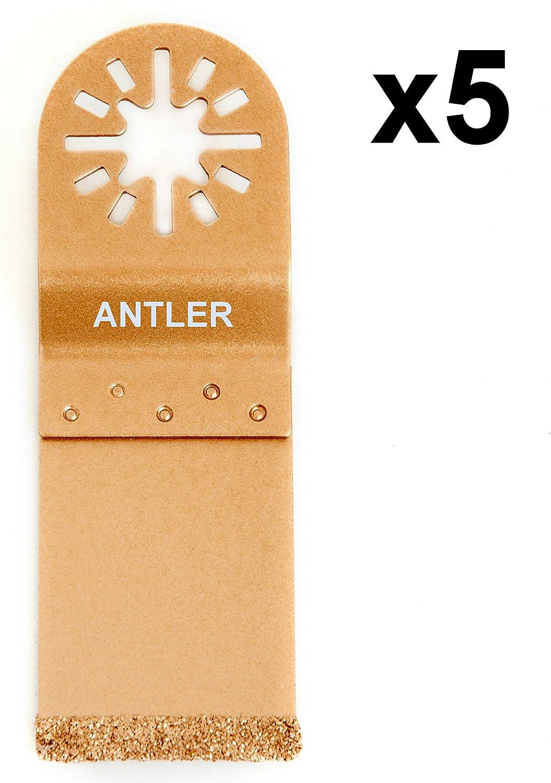 5X Antler 35mm Carbide Blades Fein Multimaster Bosch Makita Milwaukee Oscillating Multitool AB35CEC