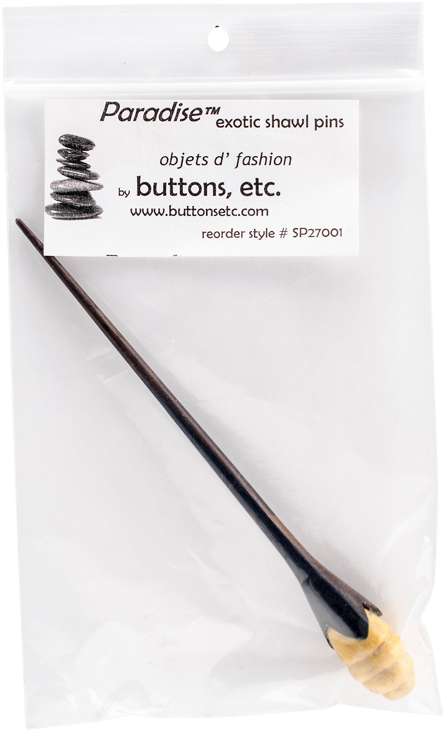 Paradise Exotic Shawl Pin Paradise Beehive Shawl Stick