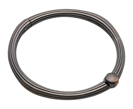 Image Unavailable Not Available For Color Carnation Home Fashions SLM O 67 Shower Curtain Hooks Oil Rubbed Bronze