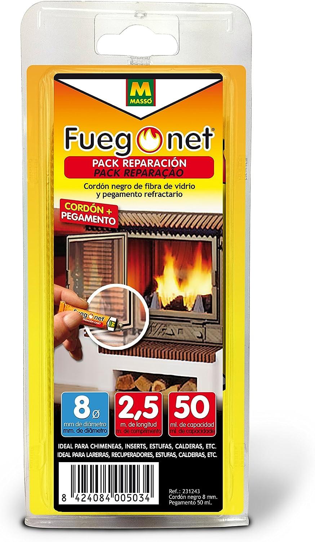 FUEGO NET Fuegonet 231243 Cord/ón Negro 11x3x22 cm