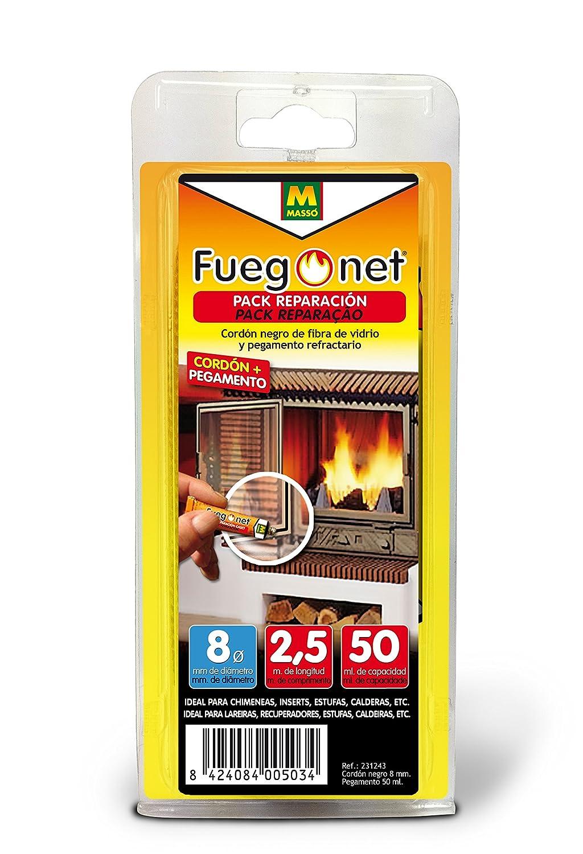 FUEGO NET Fuegonet 231243 Cordón, Negro, 11 x 3 x 22 cm Comercial Química Massó 89Q213