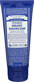 product image for Dr. Bronner's Certified Organic Body Care Spearmint Peppermint Shaving Gels 7 fl. oz. (a)