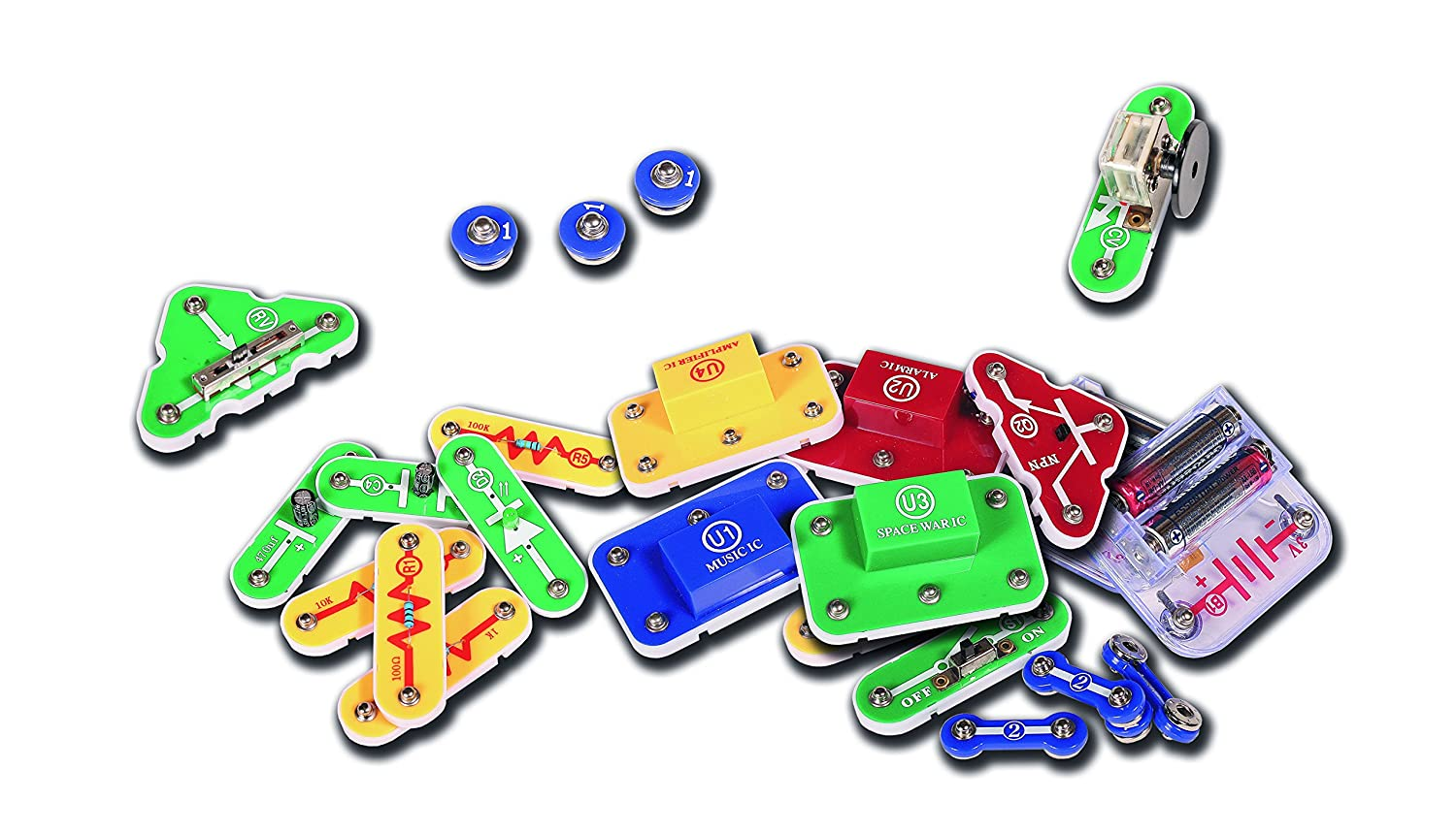 Hot Wires Electronics Kit From John Adams Toys Games Snap Circuits Jr Educational 100 Exp
