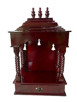 Beau Amazon.com: Elegant Hindu Puja Alter Mandir For Home With Bells: Kitchen U0026  Dining