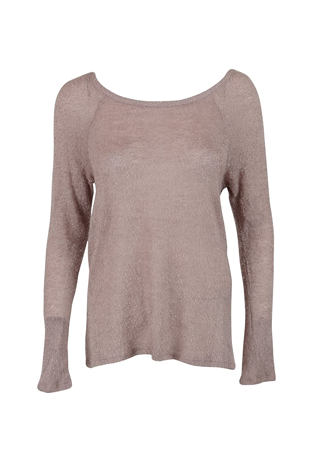 Bar III Womens Boucle Pleated Pullover Top