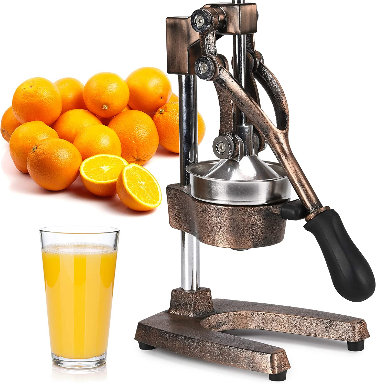 Zulay Professional Citrus Juicer - Manual Citrus Press and Orange Squeezer