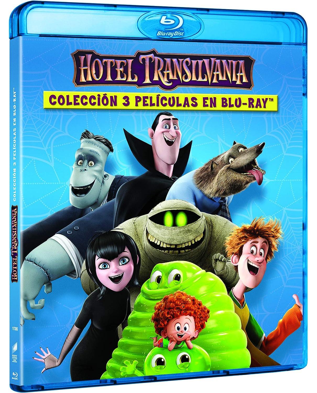 Hotel Transilvania 1-3 [Blu-ray]: Amazon.es: Adam Sandler ...