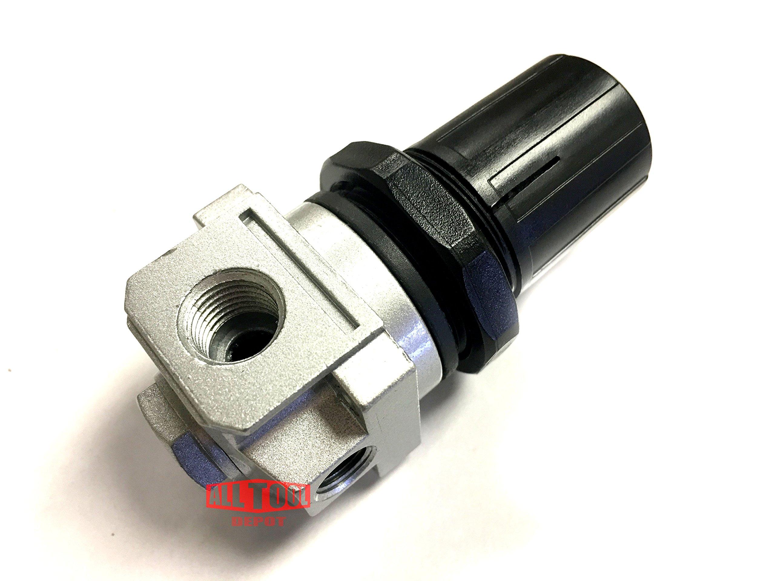 D27256 Air Compressor Regulator 4Port P1P2 Porter Cable Devilbiss & Craftsman