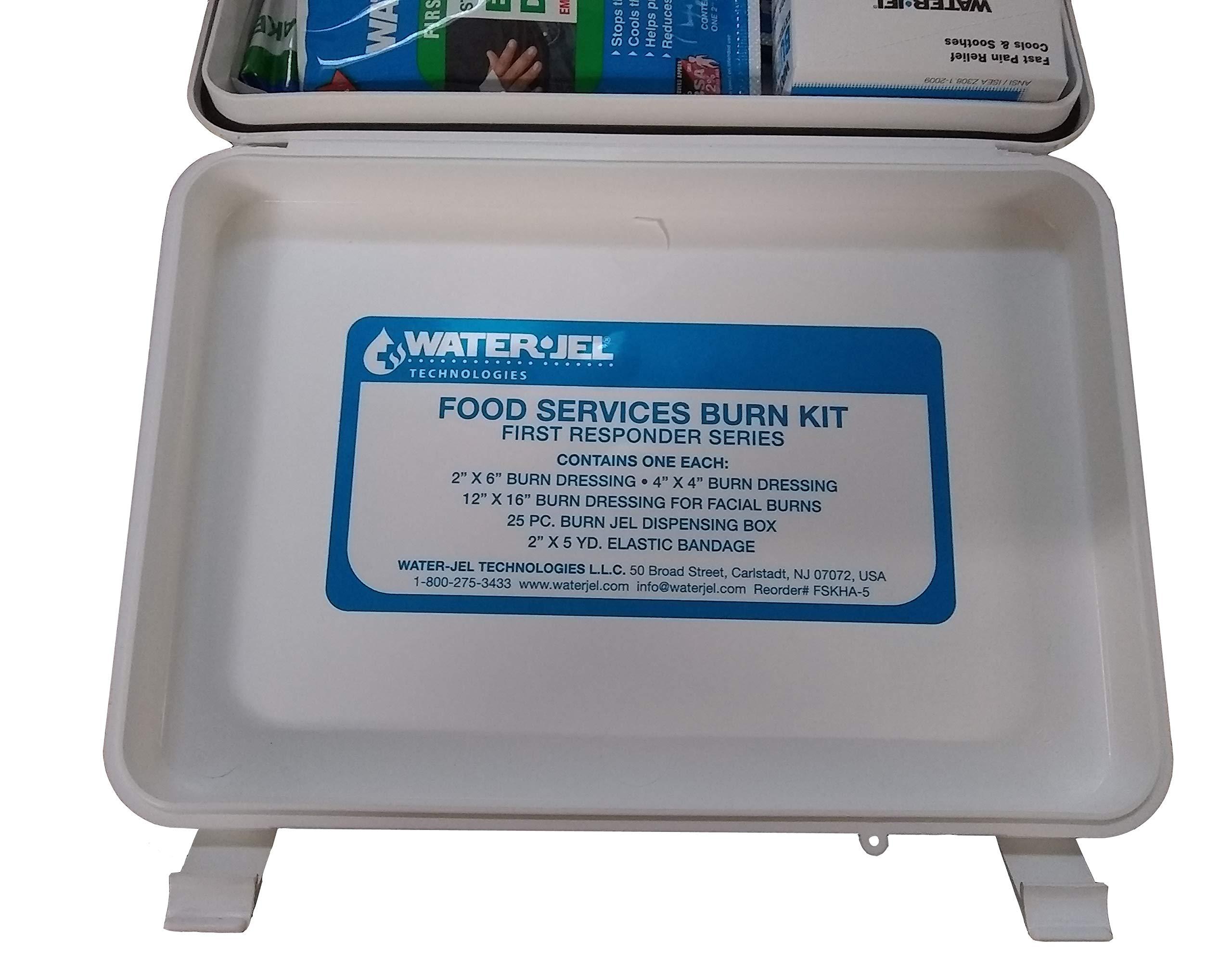Water-Jel Super First Aid Burn Kit Responder FAK-BURN KIT by Water Jel