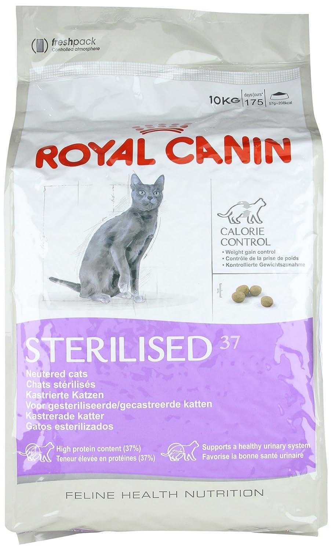 Royal Canin 55128 esterilizado 10 kg - comida para gatos: Amazon.es: Productos para mascotas