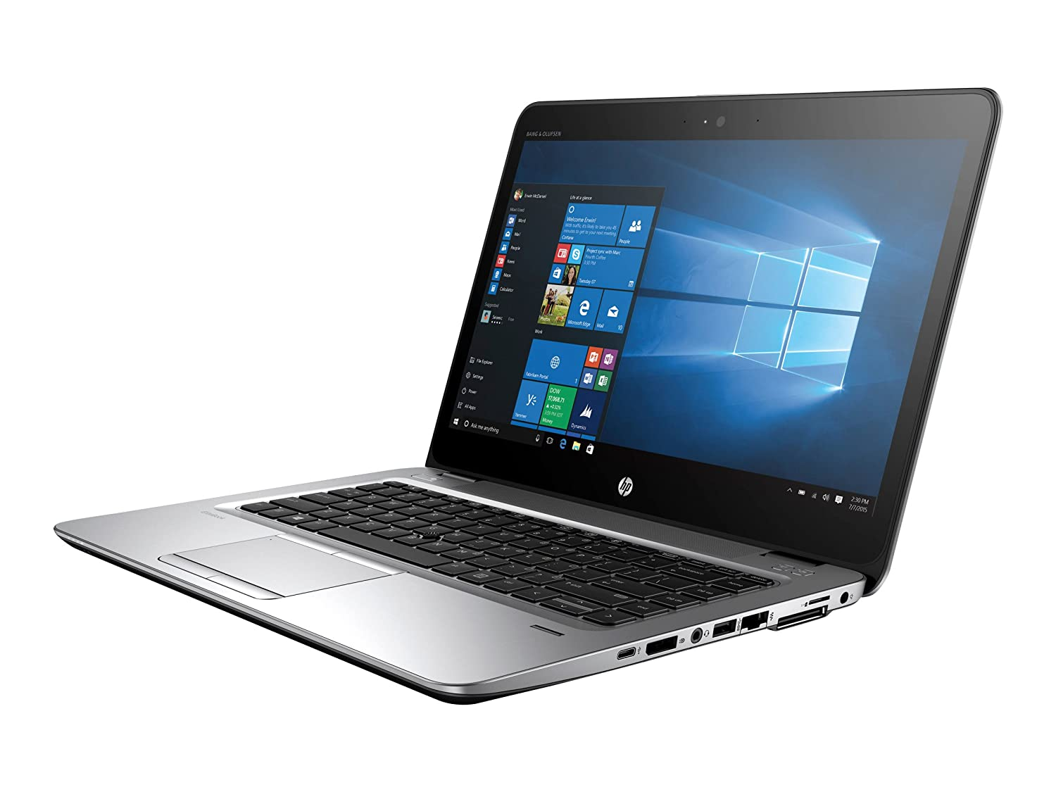 "HP Elitebook 840 G3 Notebook - V1H23UT#ABA (14"" FHD Display, i5-6300U  2 4GHz, 8GB RAM, HD Webcam, Windows 7/10 Pro 64)"