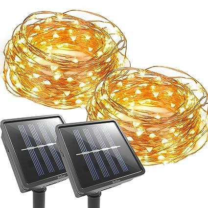 Solar Led String Lights Outdoor Enchanting 60 Packs]Homestarry Solar String Lights Outdoor Garden Waterproof