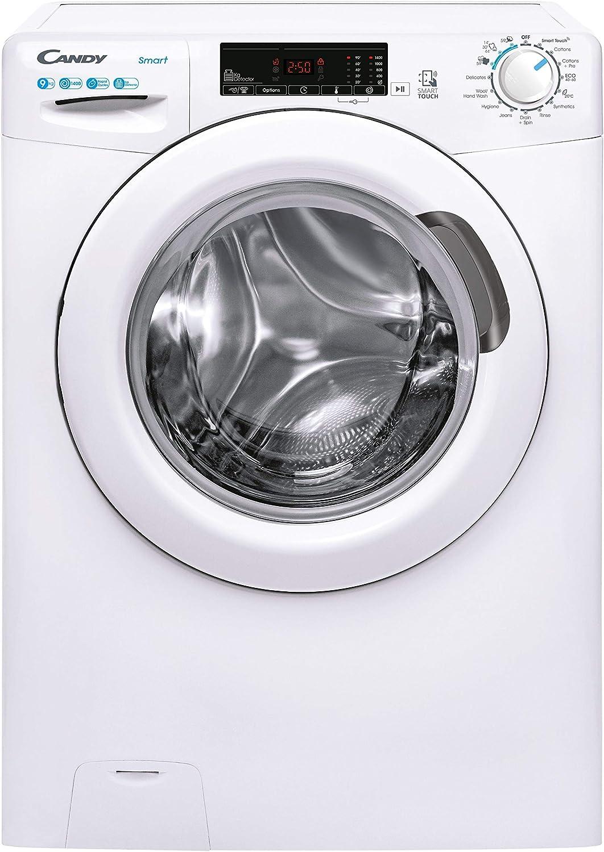 Candy Smart Pro CS149TE Free Standing Washing Machine, 9 kg Load, 1400 rpm, White