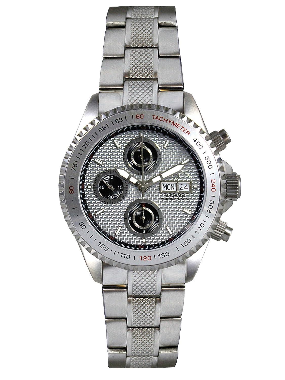AndrÉ Belfort Herren-Armbanduhr Chronographe Royal Stahl Silber 410129