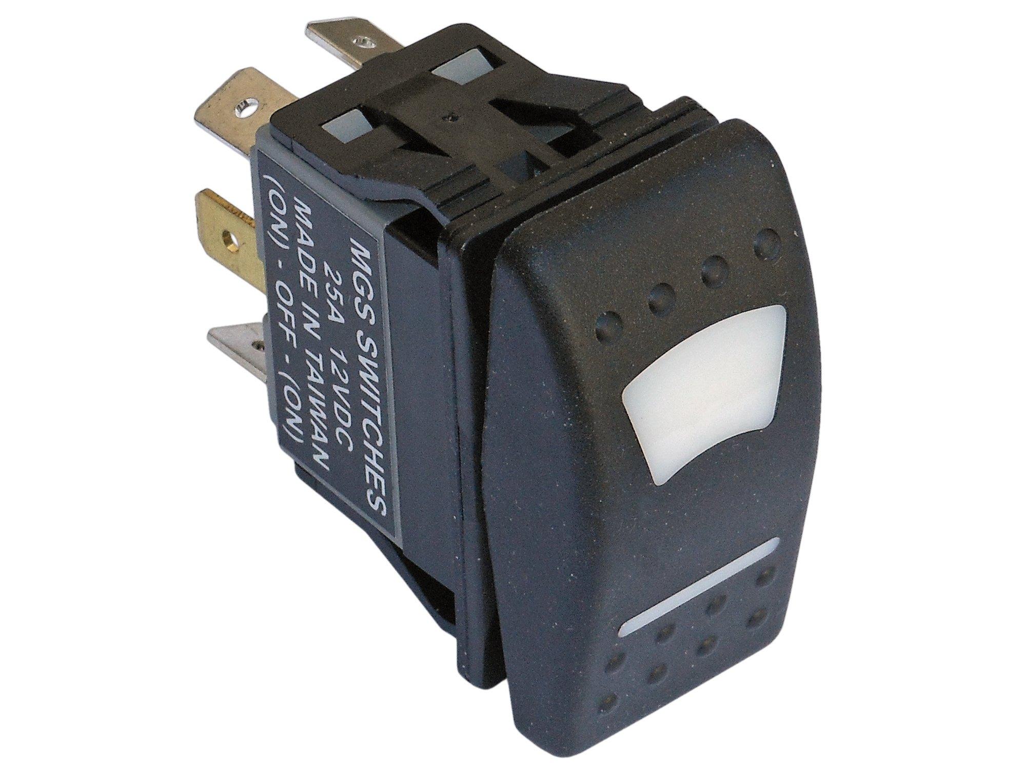 Five Oceans 6 Pin LED Rocker Switch 12V w/Light for Boat FO-3015