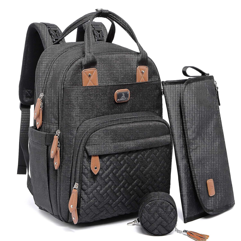 Dikaslon Neutral Diaper Bag Backpack