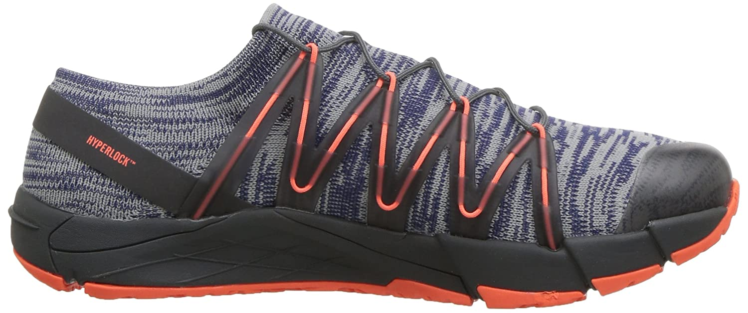 Merrell Women's Bare Access Flex Knit Sneaker B078NG6R83 6.5 B(M) US|Blue Depths