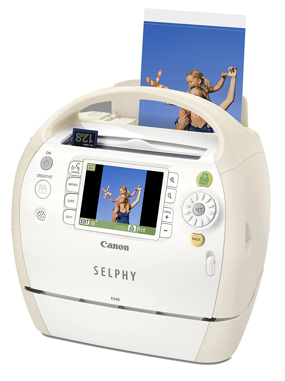 Canon Selphy ES40 - Impresora fotográfica (300 x 600 dpi ...