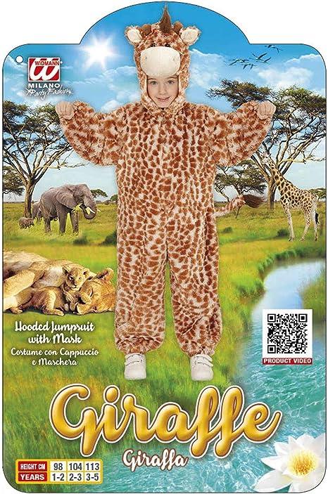 Bimba Giraffa in Peluche  PS 22805 Costume Carnevale Bimbo