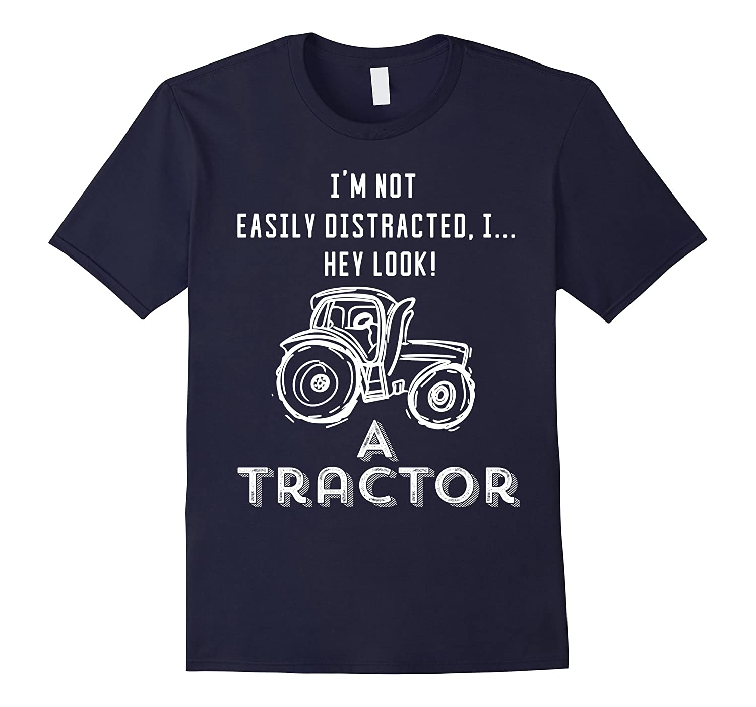 Funny Tractor Shirt - Hey Look A Tractor-FL