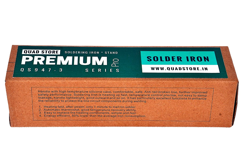 Quad Store Premium Pro Micro Soldering Iron Kit 60w With Adjustable