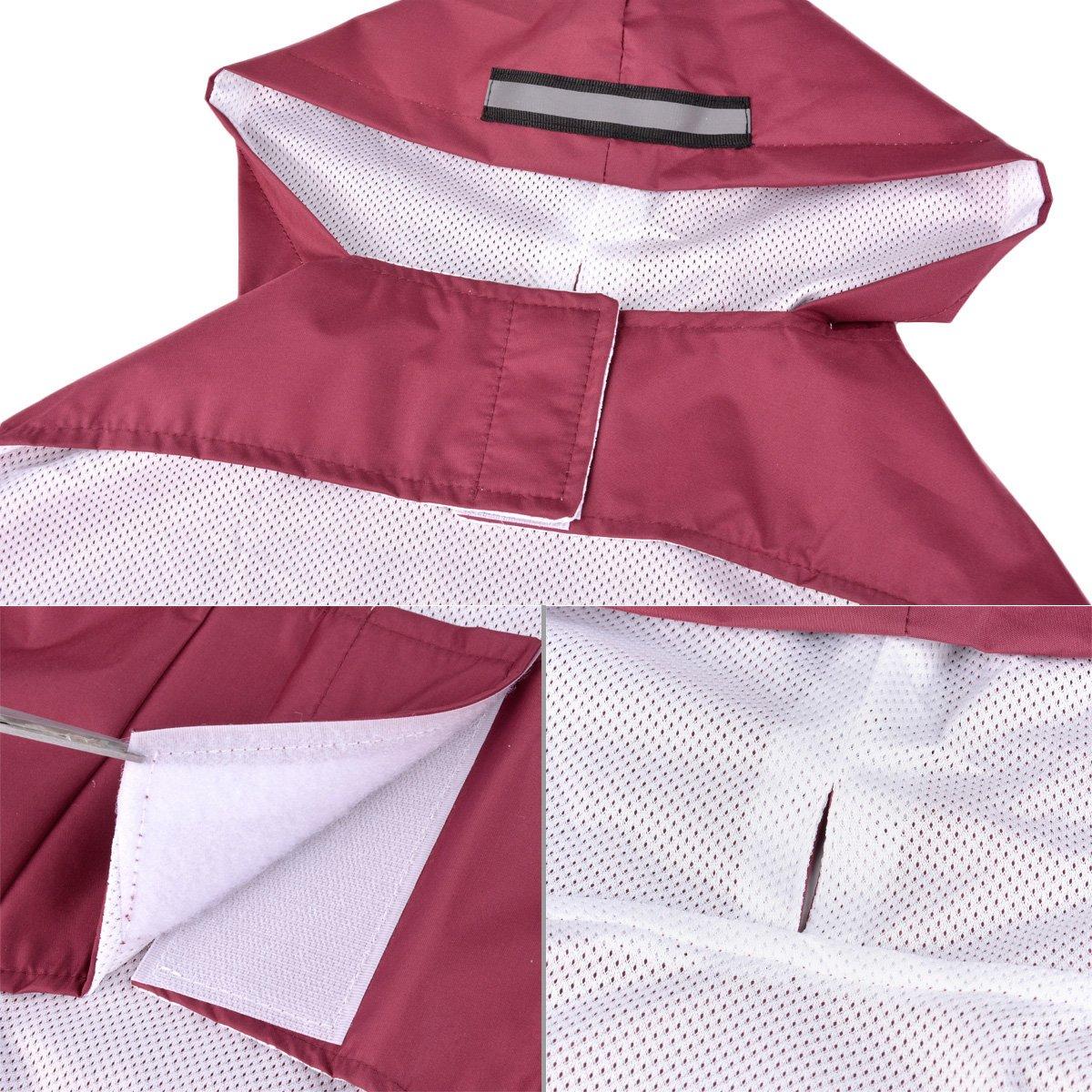 Impermeabile Cappotto Per Cani 3XL-5XL Legendog Guinzaglio Per Cani Costume Abbigliamento Impermeabile Per Cani Da compagnia