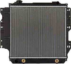 Klimoto Radiator | fits Jeep TJ 1997-2006 Wrangler 1987-2006 2.4L 2.5L 4.0L 4.2L | Replaces CH3010221 040876420151 52028120 5200612