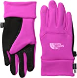 The North Face Youth Etip Glove Luminous Pink/Gem Pink S