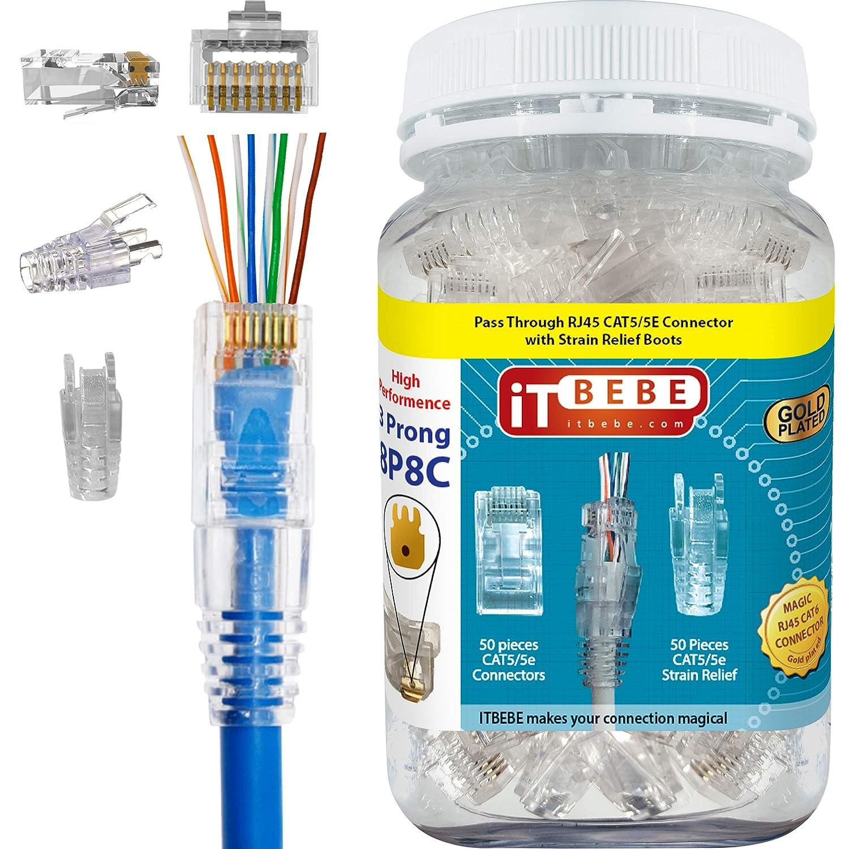 50 pieces Test Plugs /& Test Jacks TIP JACK BLACK