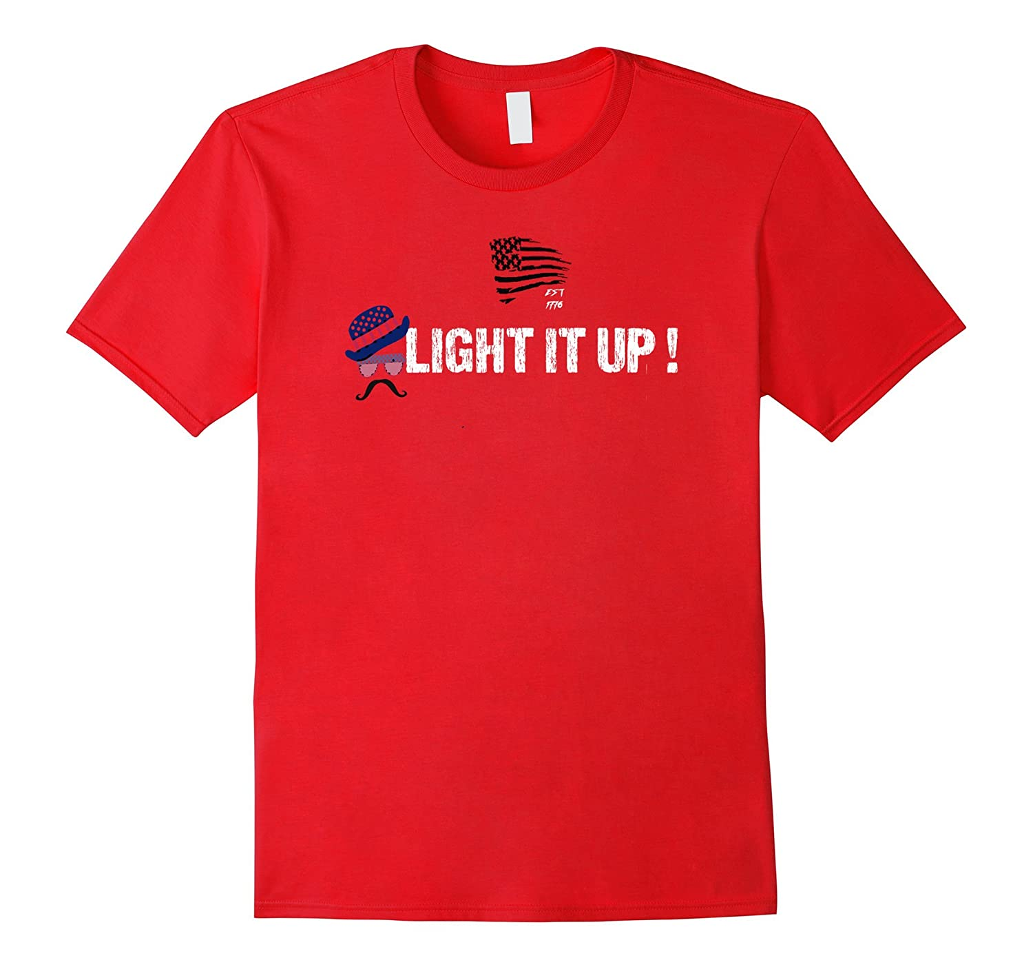 4TH of July LIGHT IT UP FIRECRACKER TSHIRT-TH