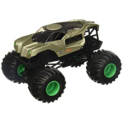 Hot Wheels Monster Jam Alien Invasion Vehicle: Toys & Games