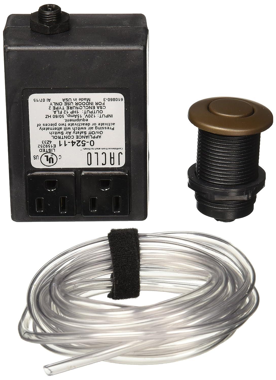 Jaclo 2822-TB Waste Disposal Air Switch, Tristan Brass - Garbage ...