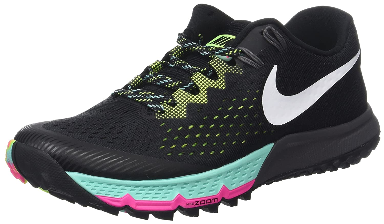 104ad22969bd NIKE AIR ZOOM TERRA KIGER 4 Women's Shoes, Multicolored (Black / White-Volt-Hyper  turquoise),7 UK(41 EU): Amazon.co.uk: Clothing
