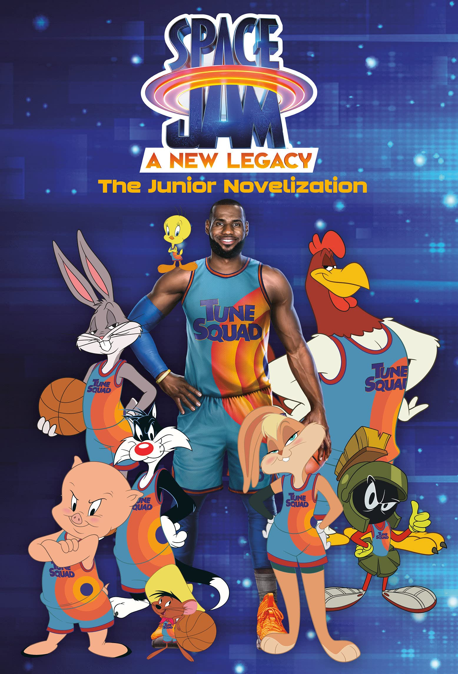Space Jam: A New Legacy: The Junior Novelization (Space Jam: A New Legacy): Lewman, David: 9780593382271: Amazon.com: Books