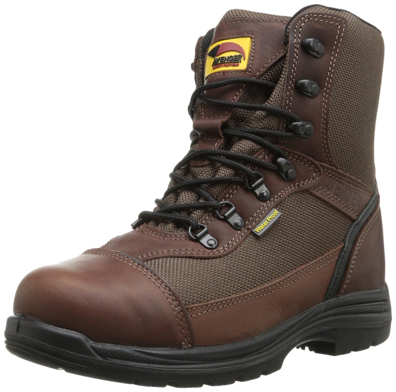 Avenger Safety Footwear メンズ B00E56H95O 8.5 D(M) US ブラウン ブラウン 8.5 D(M) US