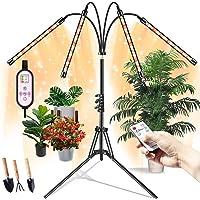 Grow Lights for Indoor Plants, Semai Led Grow Plant Light 4 Head 80 LED Floor Plant Light with Stand for Tall & Large…