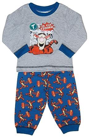 ecac163db81d9 Disneys Tigger Baby Boy Pyjamas T is Tigger: Amazon.co.uk: Clothing