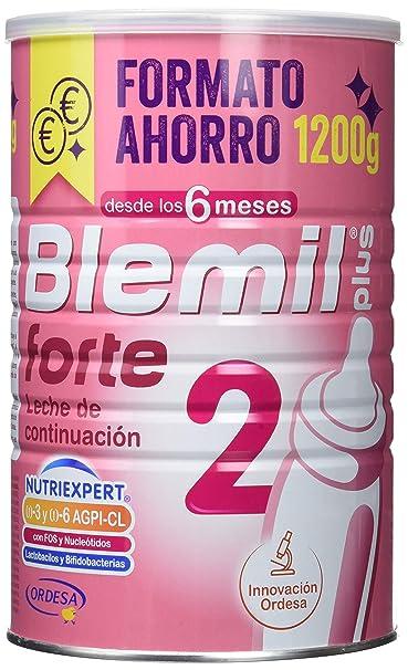Blemil Plus Forte 2, Leche de continuación para bebé - 1200 gr ...