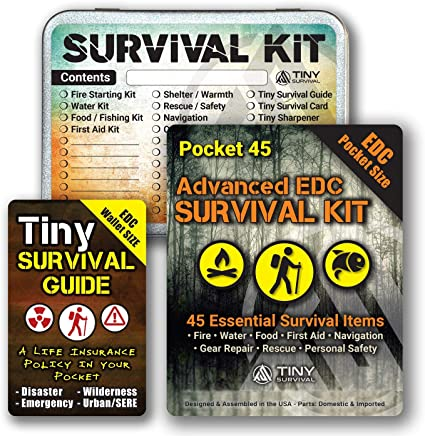 EDC Survival Card Pocket Tactical Hunting Utility Emergency Hiking