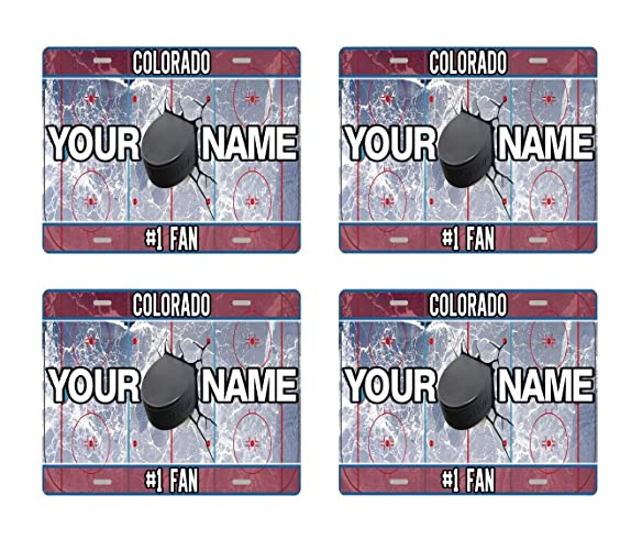 Amazon com: BRGiftShop Personalize Your Own Hockey Team