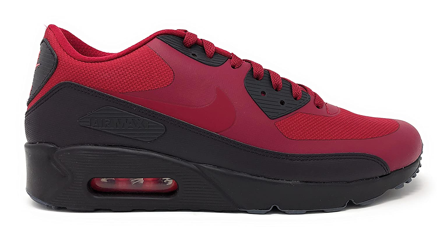 NIKE Air Air Air Max 90 Ultra 2.0 Essential, Baskets Homme 44 EU|Noble Red/Noble Red-port Wine ad81be