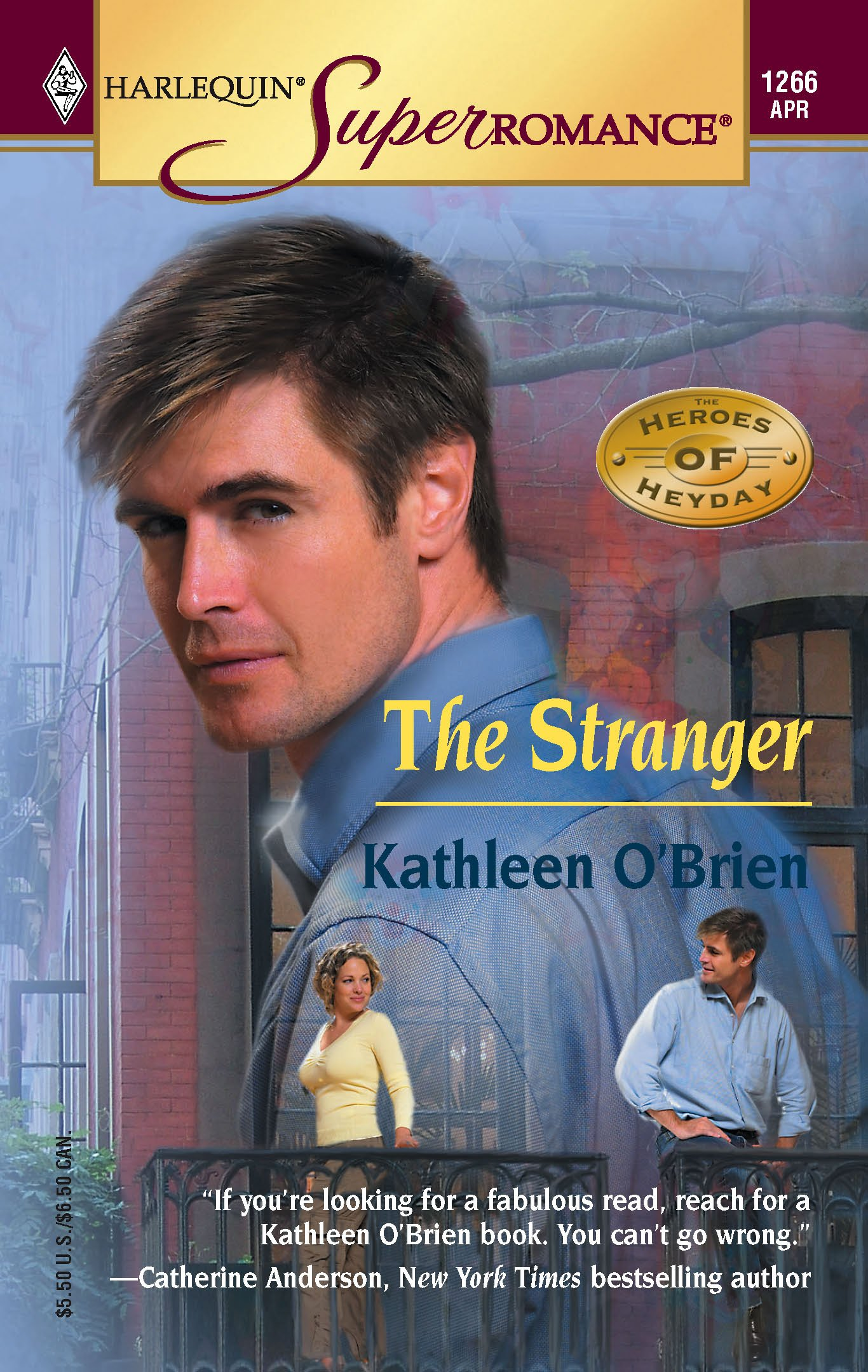 Download The Stranger: The Heroes of Heyday (Harlequin Superromance No. 1266) pdf