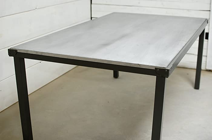 Amazon Com Zinc 60 Dining Table Top Only Handmade