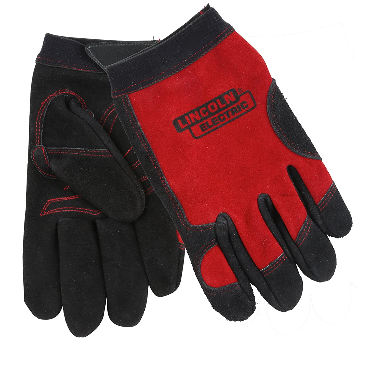 Lincoln Electric KH799XL Work Gloves, X-Large, Red: Amazon.com: Industrial & Scientific