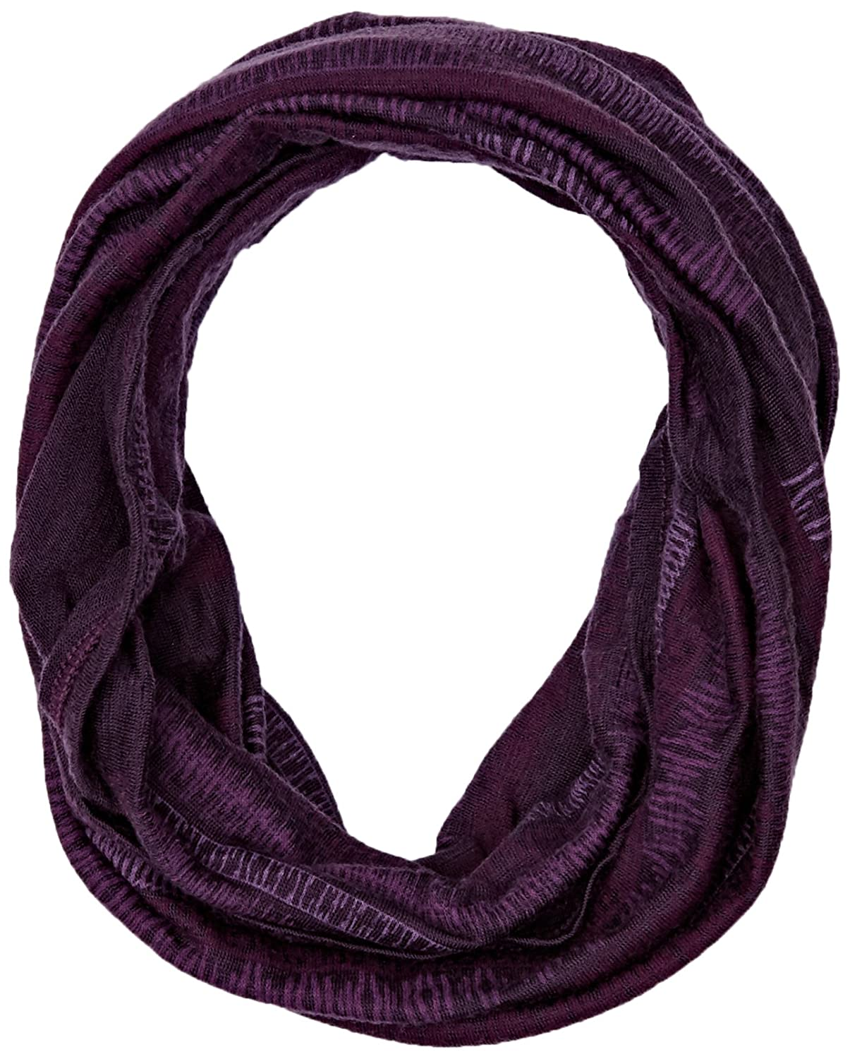 TALLA Adulto. Original Buff Merino Wool Lisha Plum Tubular de Fibra Natural, Unisex Adulto