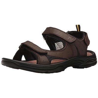 Propet Men's Daytona Flat Sandal, Brown, 15 2X-Wide | Sandals