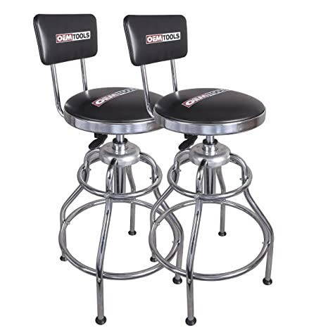 Excellent Oemtools 24911Two Adjustable Hydraulic Stool 2 Pack Machost Co Dining Chair Design Ideas Machostcouk